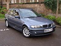 EXCELLENT DIESEL ESTATE!! 2004 BMW 3 SERIES 2.0 320d ES TOURING 5dr AUTO, FSH, 1 YEAR MOT, WARRANTY