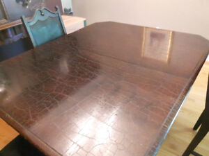 1928 Antique dining table and China cabinet $500.00 or B/O