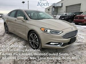 2017 Ford Fusion Titanium  - Low Mileage