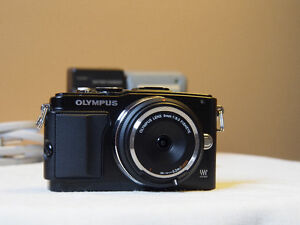 Olympus Pen EPL5 with VF2 viewfinder