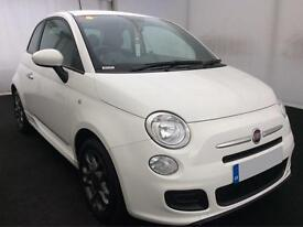 ONLY £138.01 PER MONTH 2015 FIAT 500 S 1.2 (s/s) PETROL MANUAL