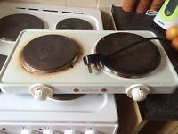 Plug in hob / cooker