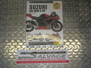 2006-2009 suzuki gsxr-600,750 haynes manual