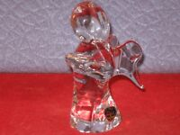 Genuine F M Art Crystal Line Studio Ronneby Sweeden ANGEL