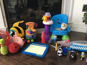 Plusieurs jouets :)