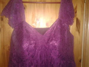 Beautiful Never Worn Purple Plus Size Dress