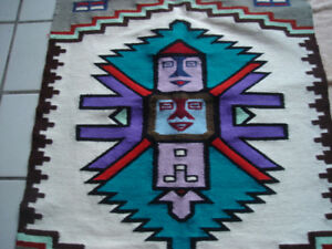 HAND WOVEN TAPESTRY from COLOMBIA