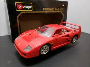 FERRARI F40 DIE CAST COLLECTABLE CAR