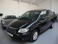 Chrysler Grand Voyager 2.8CRD Limited XS Auto,'Stow and Go' Seat Storage, Black