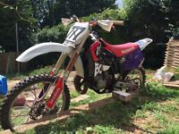 Honda cr 125 super evo fully rebuilt