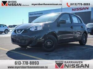 2019 Nissan Micra SV  - $117.78 B/W