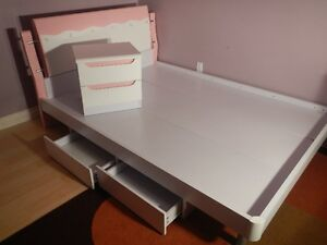 New double bed and night stand. Regina Regina Area image 1