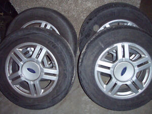 Tires and Rims in Great Shape