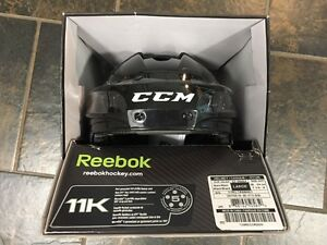 New In Box Men's CCM/Reebok 11K Helmet