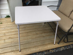 Full Size Card Table