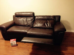 Luxury Genuine Leather reclining couch NEW London Ontario image 6