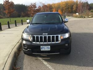 2012 Jeep Grand Cherokee Overland SUV, Crossover Kitchener / Waterloo Kitchener Area image 14