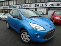 2010 Ford Ka 1.2 Studio - Blue- Long MOT JUNE 2017 + 3 Months Platinum Warranty!