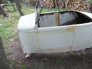 1930-31 model a roadster steel body good for hot rod or rat rod