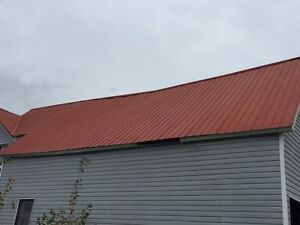Red roof tin