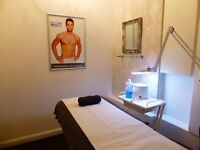 TREATMENT ROOM WANTED FOR SUCCESSFUL MALE WAXING AND BEAUTY COMPANY