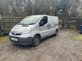 2014 Vauxhall vivaro van 2700 swb NO VAT CLUTCH SLIPPING