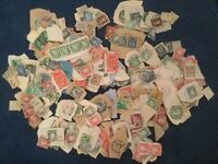 Old Irish stamps - huge collection
