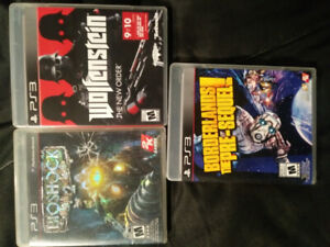 3 PS3 games for trade