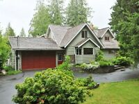 Stunning Home for Rent (Malahat, BC)