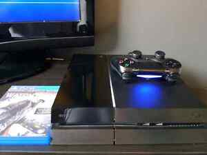 PS4 with Watchdogs **Comes with everything + Original box** Gatineau Ottawa / Gatineau Area image 1