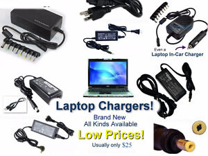 All kinds of MAC, Sony, HP/Comp, Asus, Acer Chargers r Available