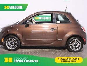2015 Fiat 500 Lounge AUTO CUIR TOIT MAGS BLUETOOTH