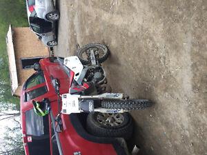 Hondas cr 125 2000$