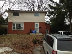 3 BDRM lower unit in great area of Midland- utilities included