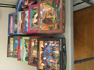 Jigwas puzzles in great shape from clean and smoke free home.