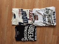 Superdry T shirts new without tags size M