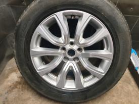 18 inch Genuine Range Rover Evoque single alloy wheel