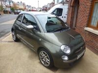 Fiat 500 (59)registration 1200cc petrol limited edition design by Diesel