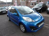 PEUGEOT 107 1.0cc active 2013 Petrol Manual in Blue