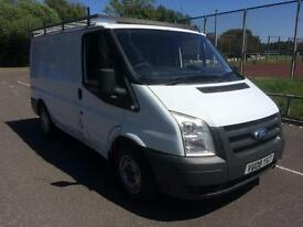 2008 Ford Transit 2.2TDCi SWB COMPLETE WITH M.O.T AND WARRANTY NO V.A.T