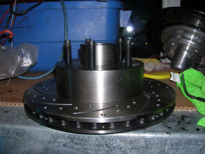 "Ford 11"" cross drilled rotors Strathcona County Edmonton Area image 2"