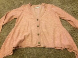 Next girl's party cardigan, age 7-8