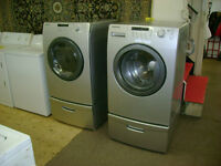 Samsung front load washer and dryer with drawers. $999.