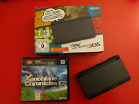 European - New Nintendo 3DS - Black - $150.00