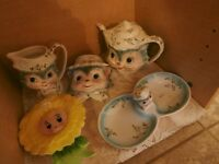 1950's Miss Priss Kitty  Cat Collection at KeepSakes Shoppe