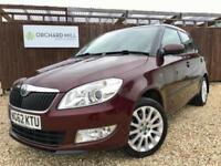 Skoda Fabia 1.6TDI CR Elegance 2013 Maroon Diesel Manual Hatchback, 5 Door