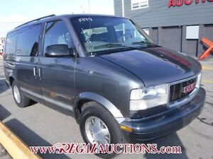 1999 GMC SAFARI VANS  EXT WAGON AWD