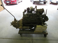 Ford V8 Flat Head Motor and transmission
