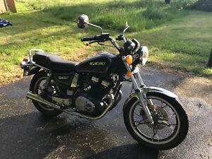 Suzuki 440. Needs to go