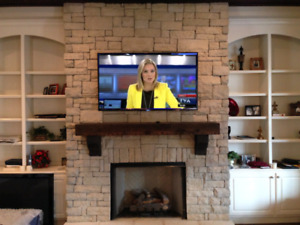 Installation television murrale 40$ , wall mounting tv